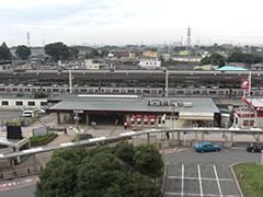 よくわからないけど和光駅前の写真でも載せときますね。